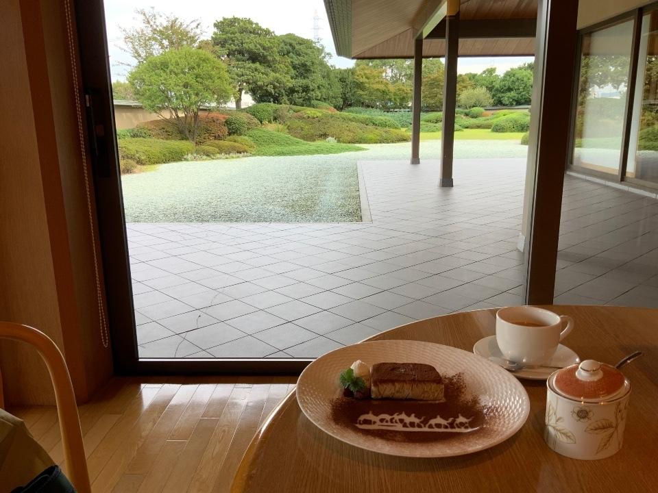 平山郁夫美術館 ☕️ カフェ