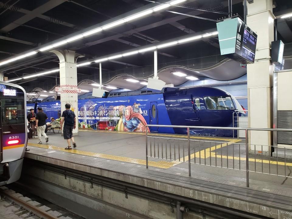 南海電車 難波駅