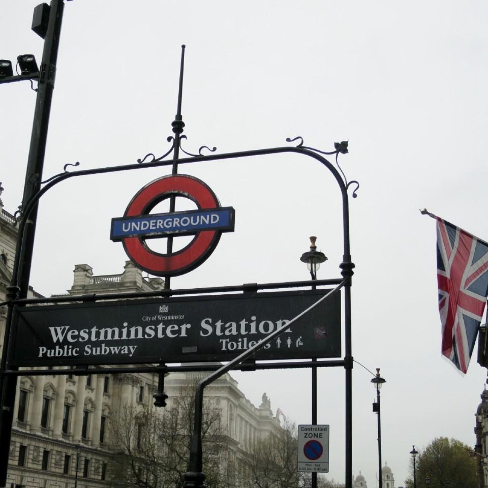 ロンドンの町