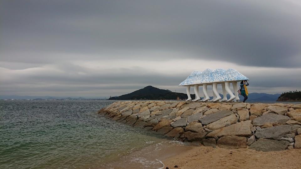 瀬戸内海国際芸術祭  秋の男木島