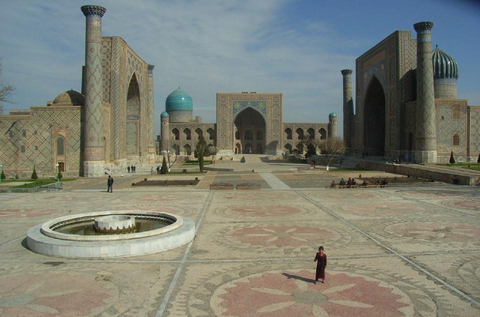 思い出のウズベキスタン②サマルカンド
