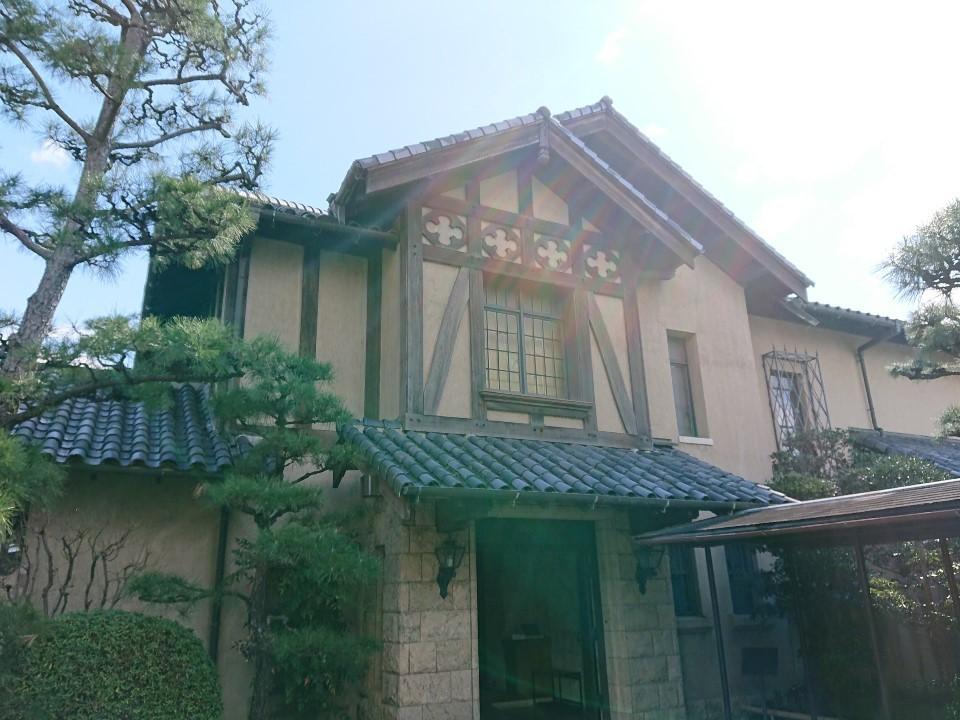 池田の街の近代建築