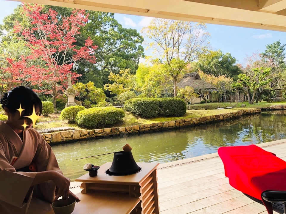 奈良国立博物館・八窓庵