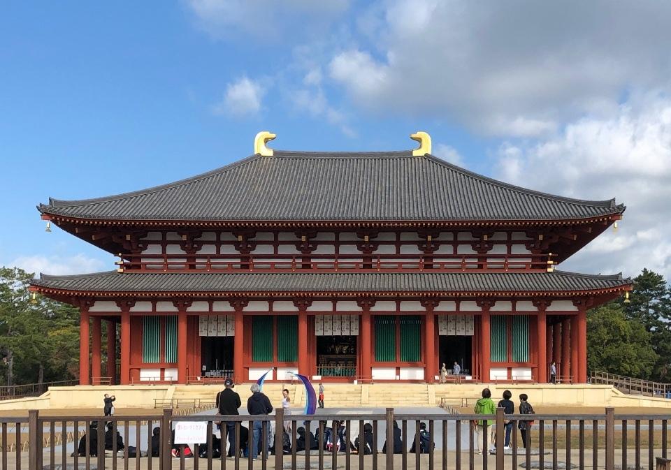 興福寺(中金堂・五重の塔)