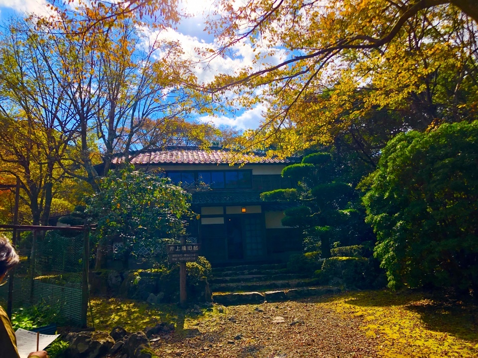 井上靖邸、庭