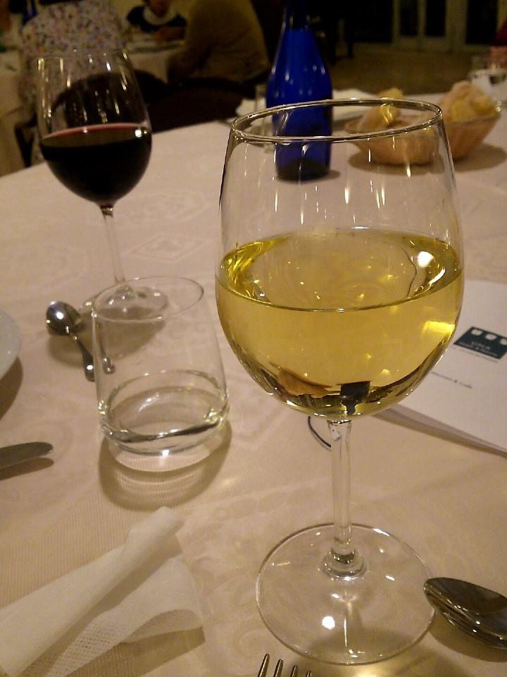 ワインとデザート