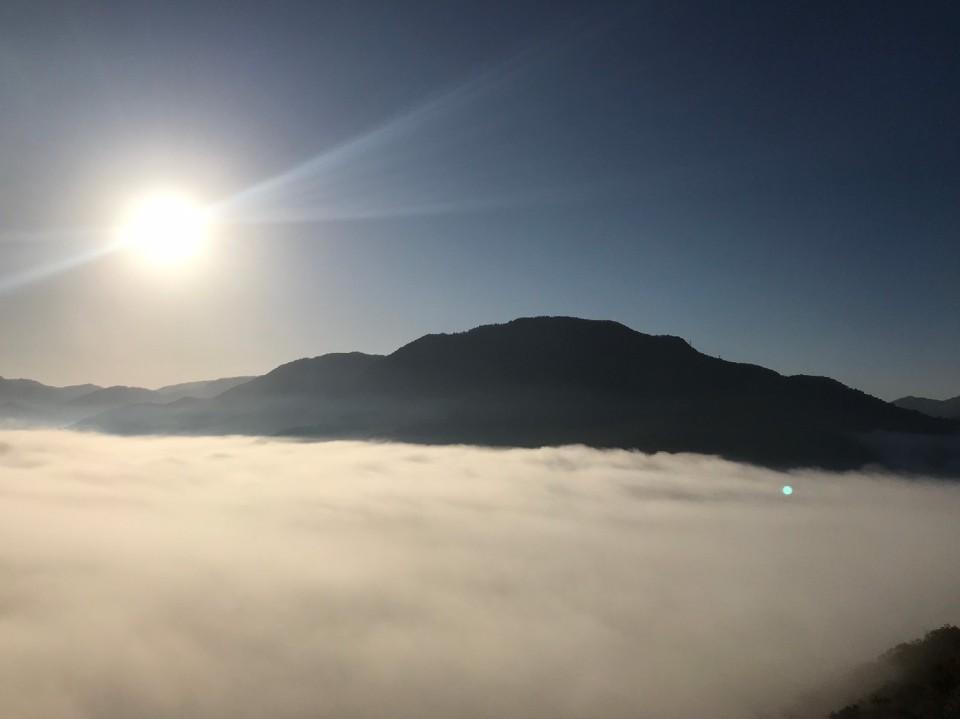 竹田城からの雲海