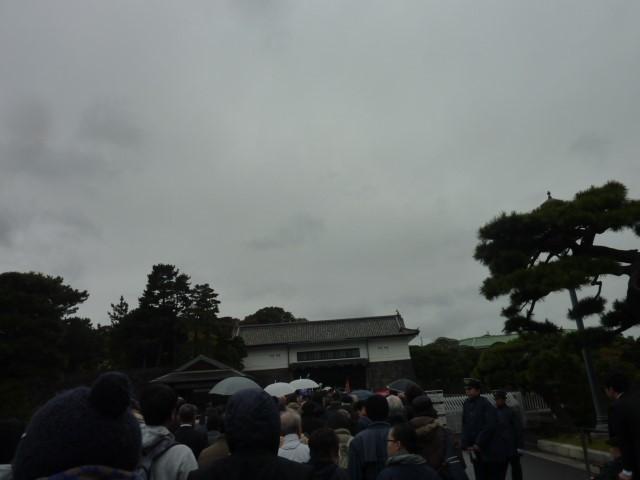 坂下門から入城