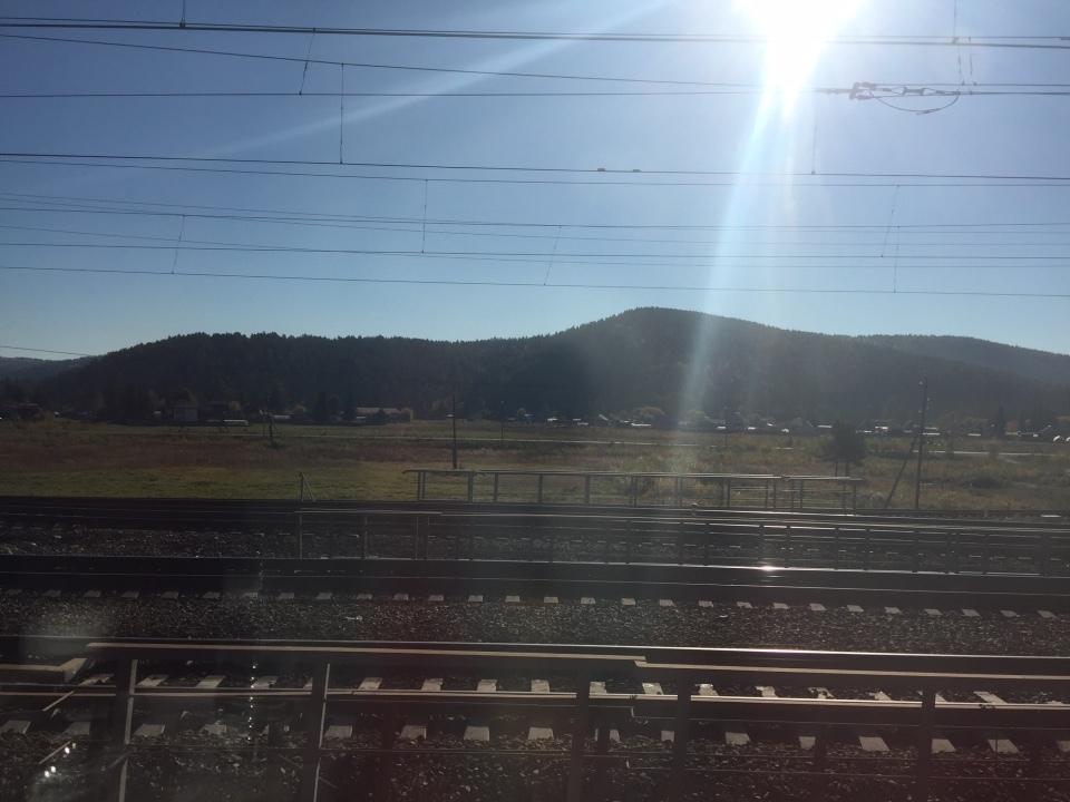 シベリア鉄道車窓から