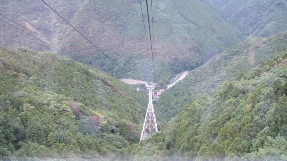 石鎚山ロープウェイ