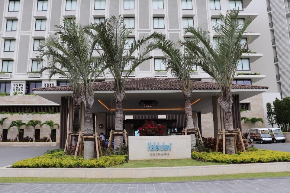 ホテルハレクラニ沖縄にいこう⑥チェックアウト