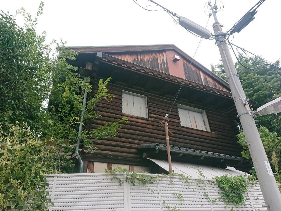 山芦屋のレトロ住宅