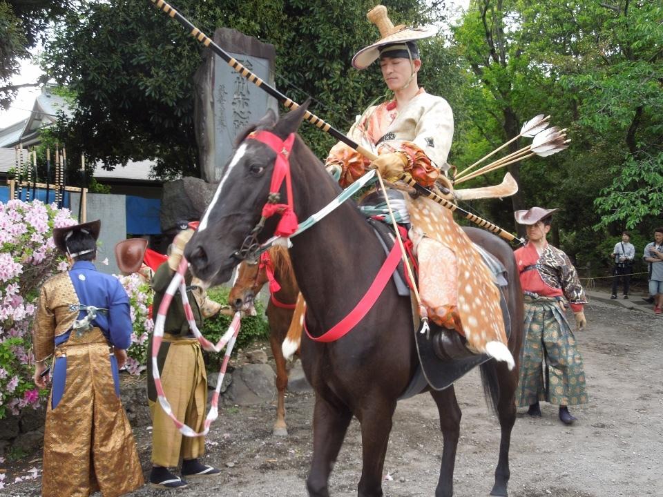 富士山本宮浅間大社の流鏑馬祭り