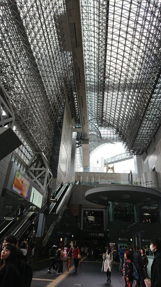 京都駅と京都劇場