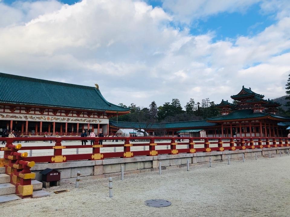 年の瀬の平安神宮