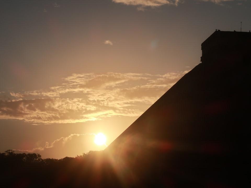 メキシコにピラミッドを登りに行く③チチェンイッツァー遺跡
