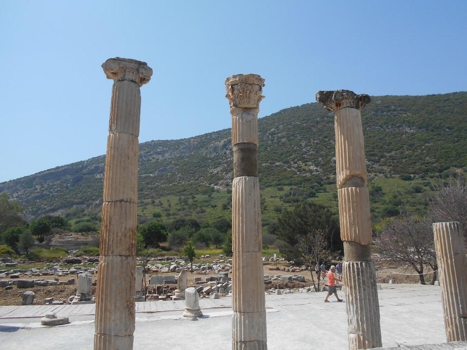 ローマ時代の柱