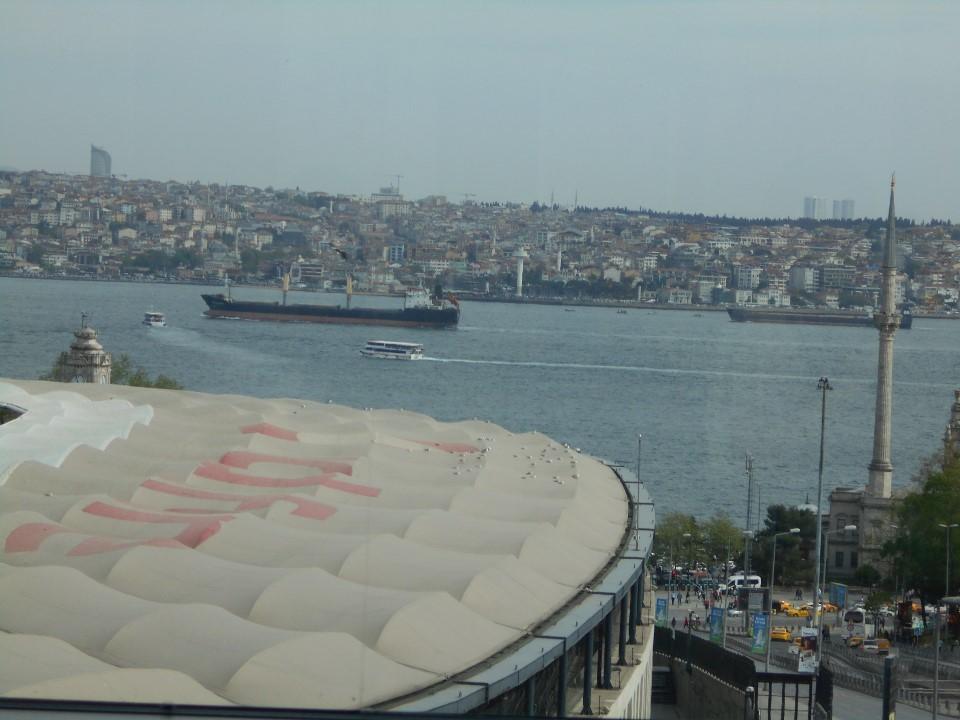 イスタンブールのホテルからの風景