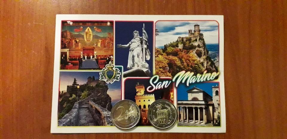 サンマリノ共和国発行の硬貨