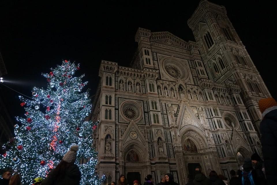 フィレンツェのドゥオモ(夜)