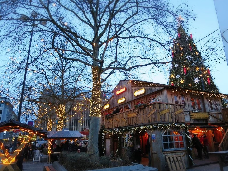 ドルトムントのクリスマスマーケット
