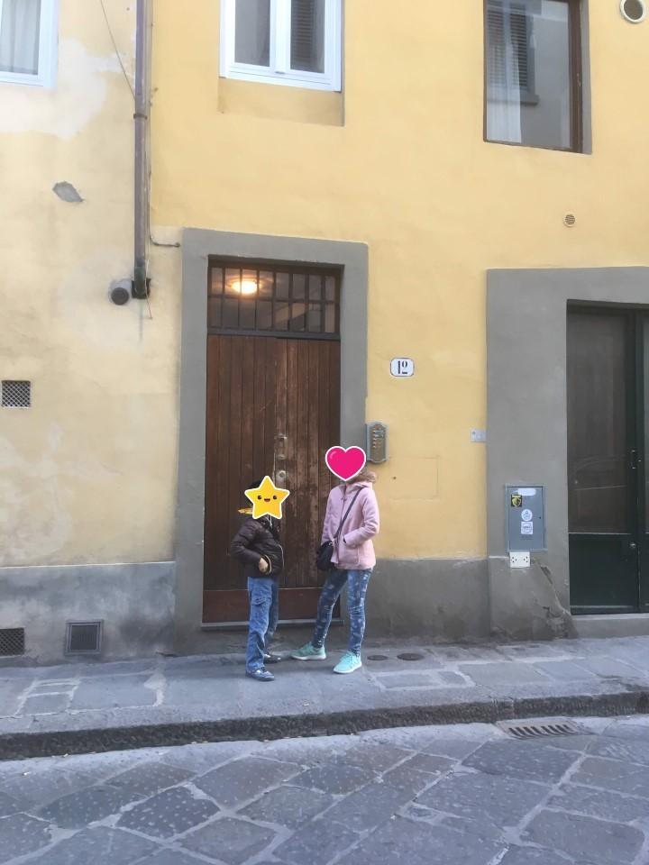 romantic apt in San Fredino