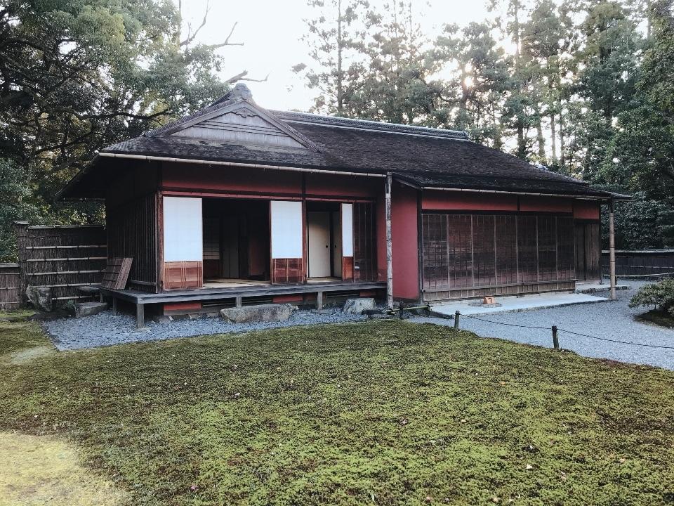京都仙洞御所を見学してきました【大庭園と茶室が美しいです】