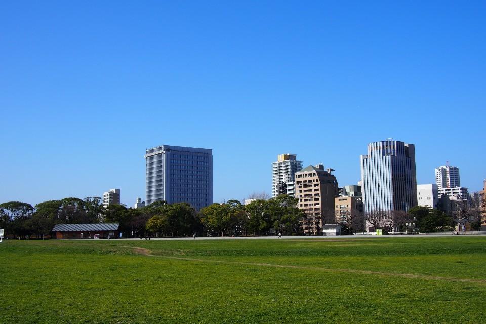 舞鶴公園(鴻臚館広場)