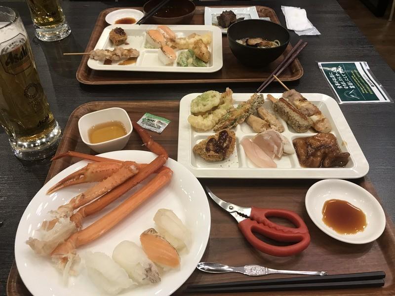黒部観光ホテル(夕食)