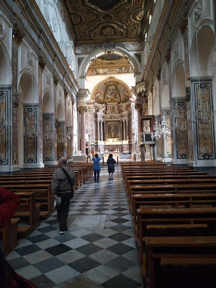 アマルフィ大聖堂内観