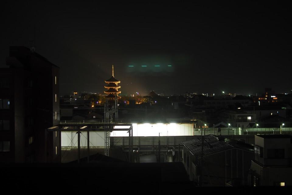 ホテルWBF京都東寺(部屋からの景色)