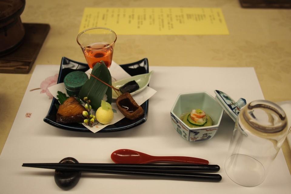 洛北荘(夕食)