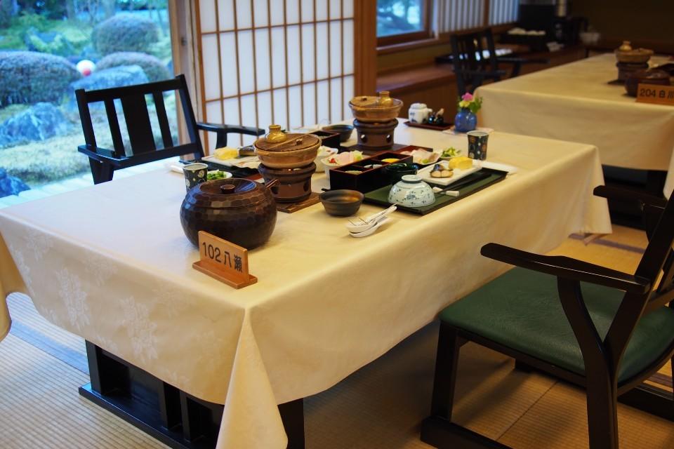 洛北荘(朝食)