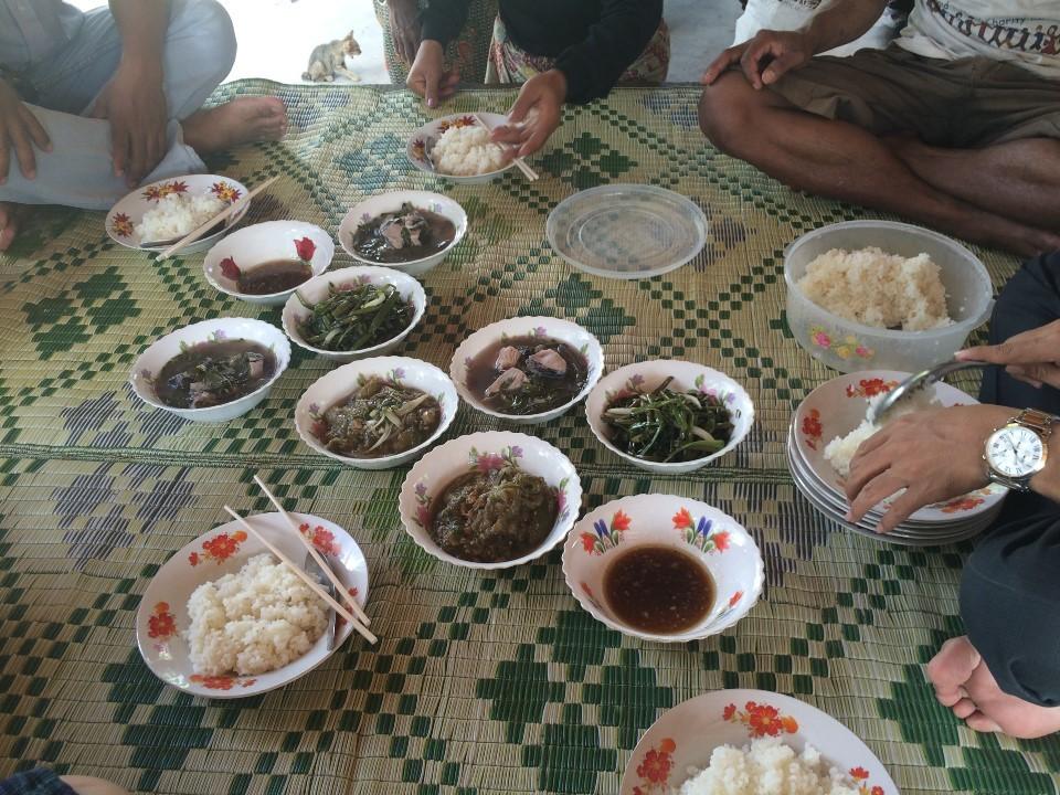カンボジアの家庭料理