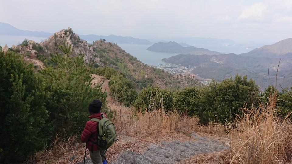 鷲ヶ頭山に登る