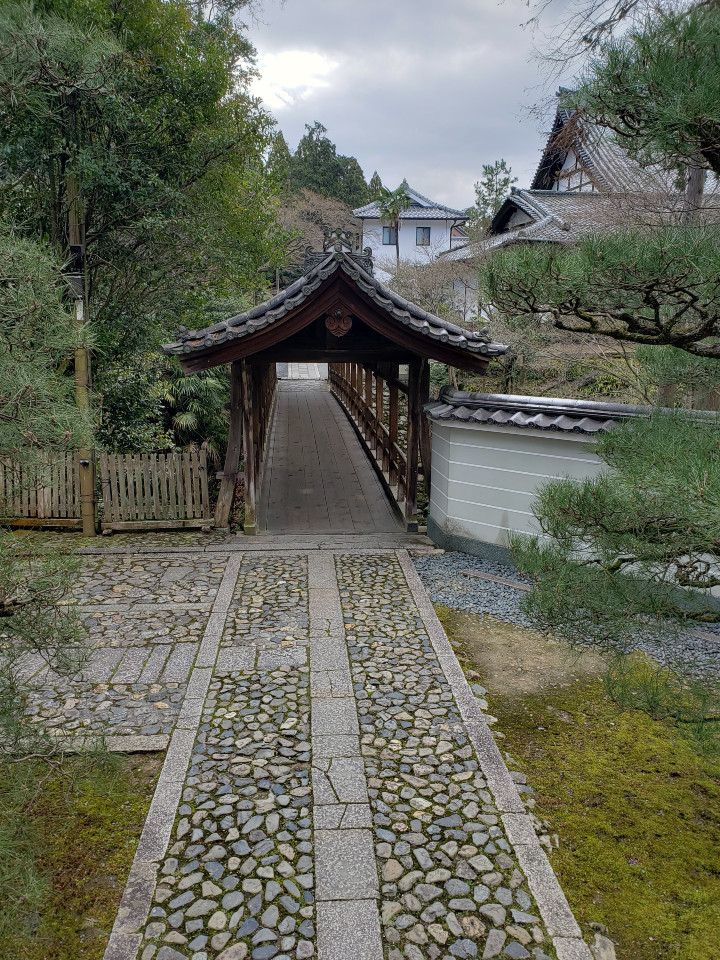 東福寺 偃月橋(えんげつきょう)