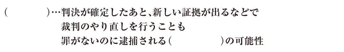 中学公民23 練習3(最後の3行<再審~さいごまで> かっこ空欄