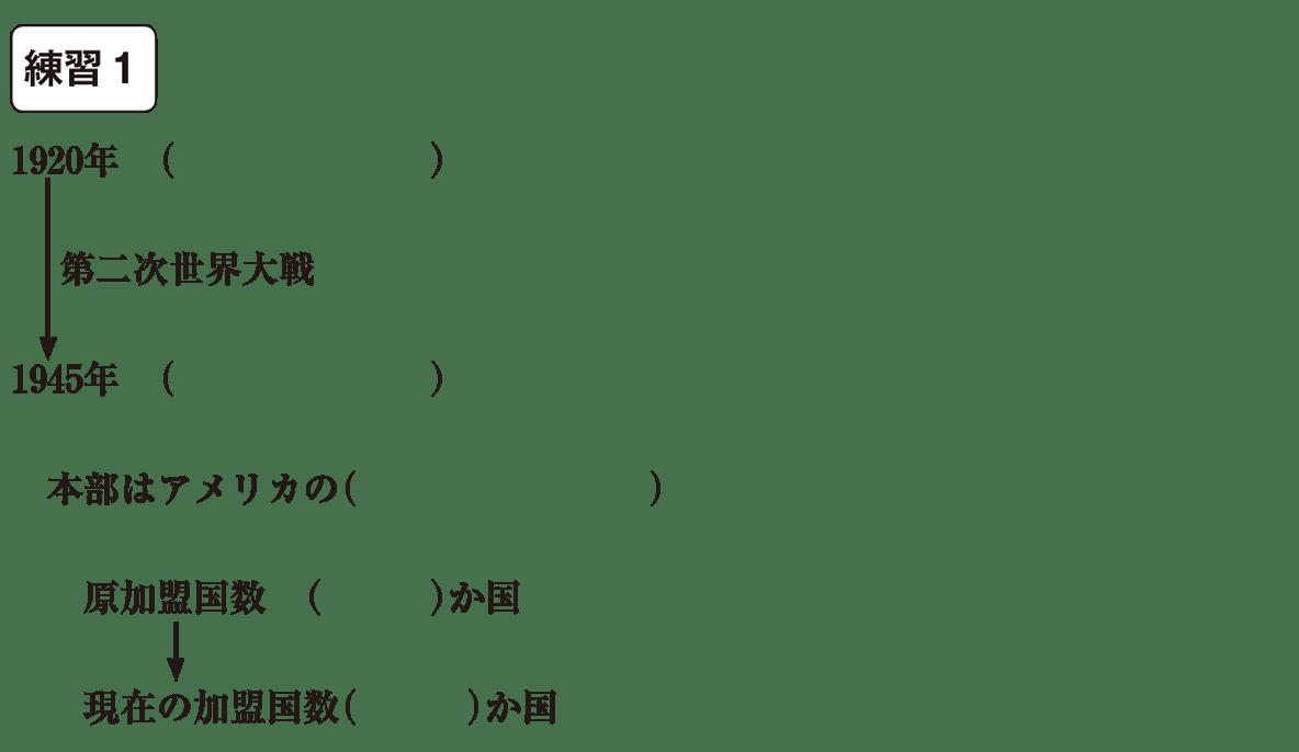 中学公民44 練習1 かっこ空欄
