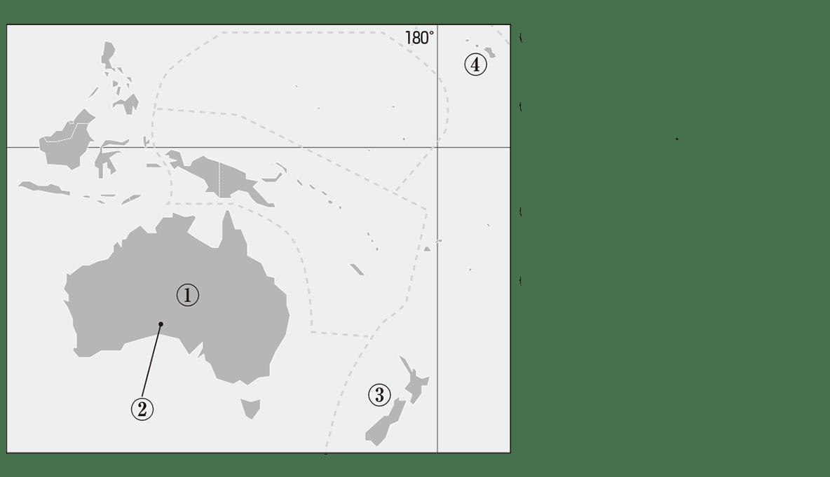 中学地理28 練習 地図のみ