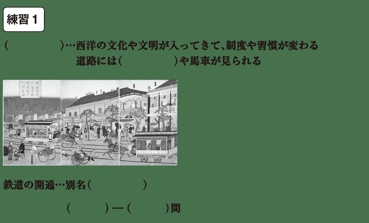 中学歴史46 練習1 カッコ空欄