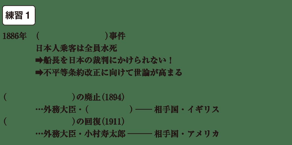 中学歴史50 練習1 カッコ空欄