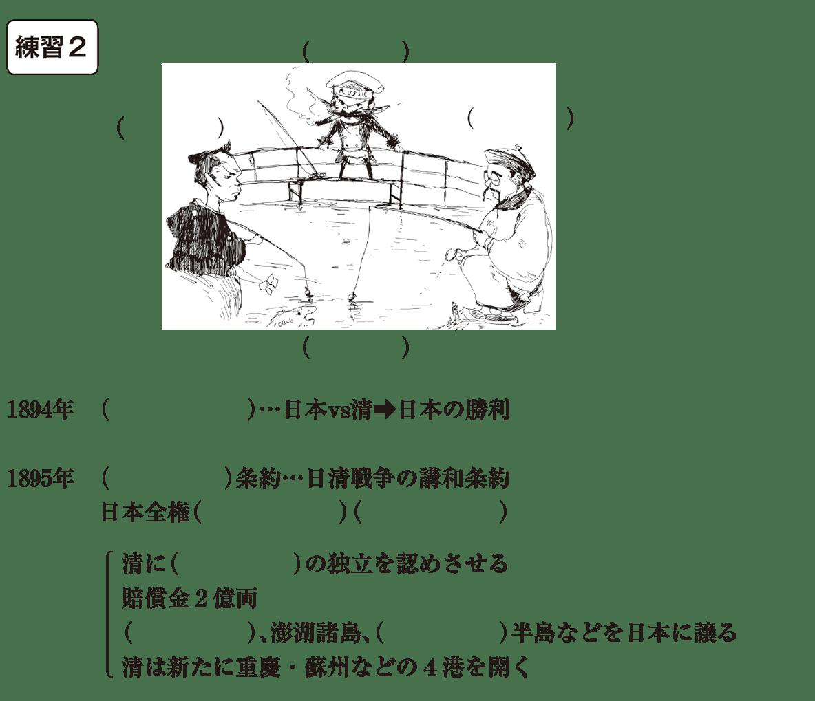 中学歴史50 練習2 カッコ空欄