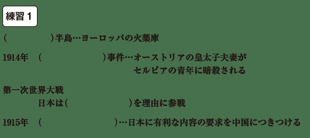 中学歴史53 練習1 カッコ空欄
