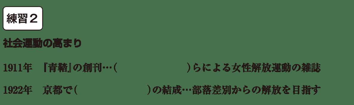 中学歴史55 練習2 カッコ空欄