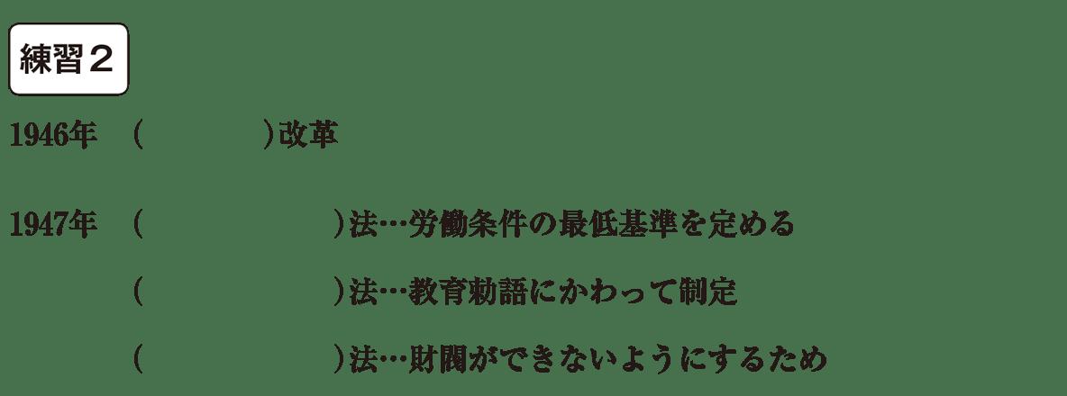 中学歴史62 練習2 カッコ空欄