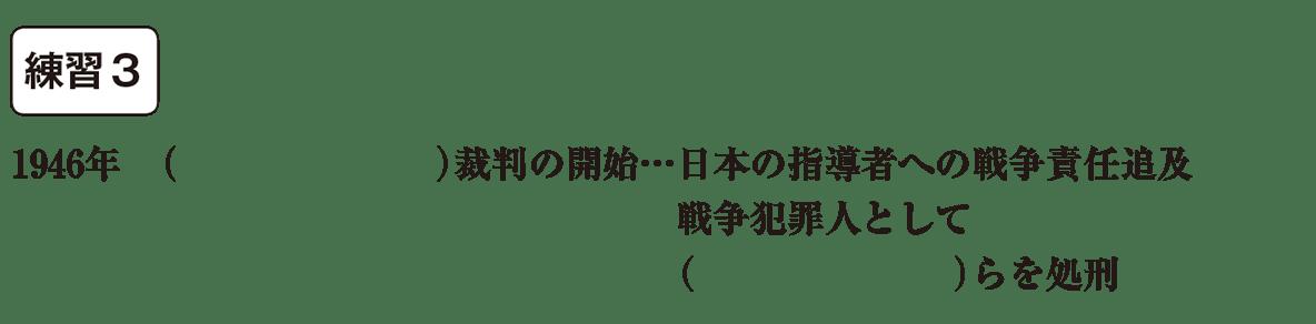 中学歴史62 練習3 カッコ空欄
