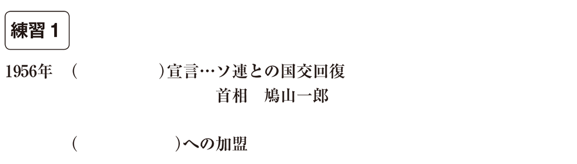 中学歴史65 練習1 カッコ空欄
