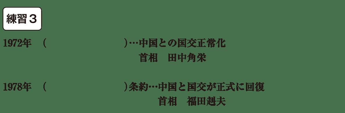 中学歴史65 練習3 カッコ空欄
