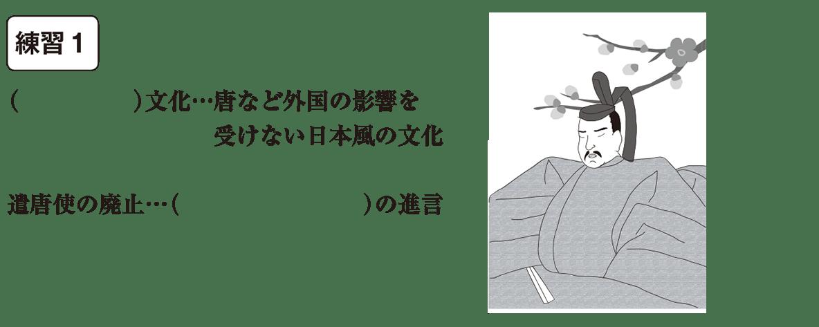 中学歴史14 練習1 カッコ空欄