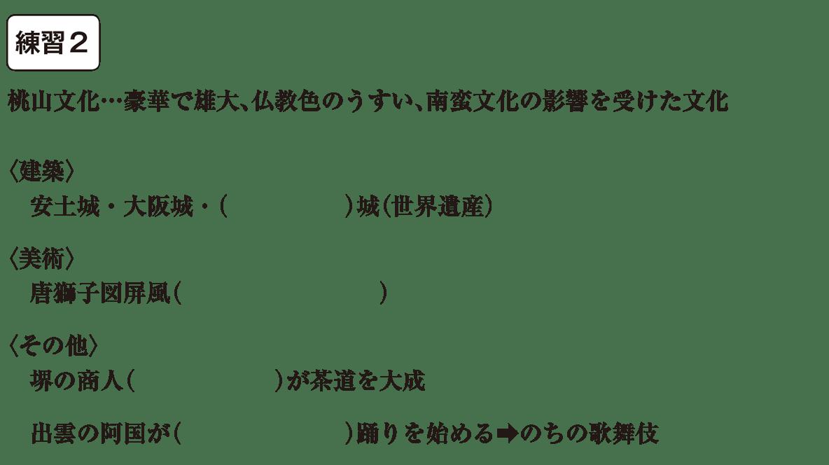 中学歴史28 練習2 カッコ空欄